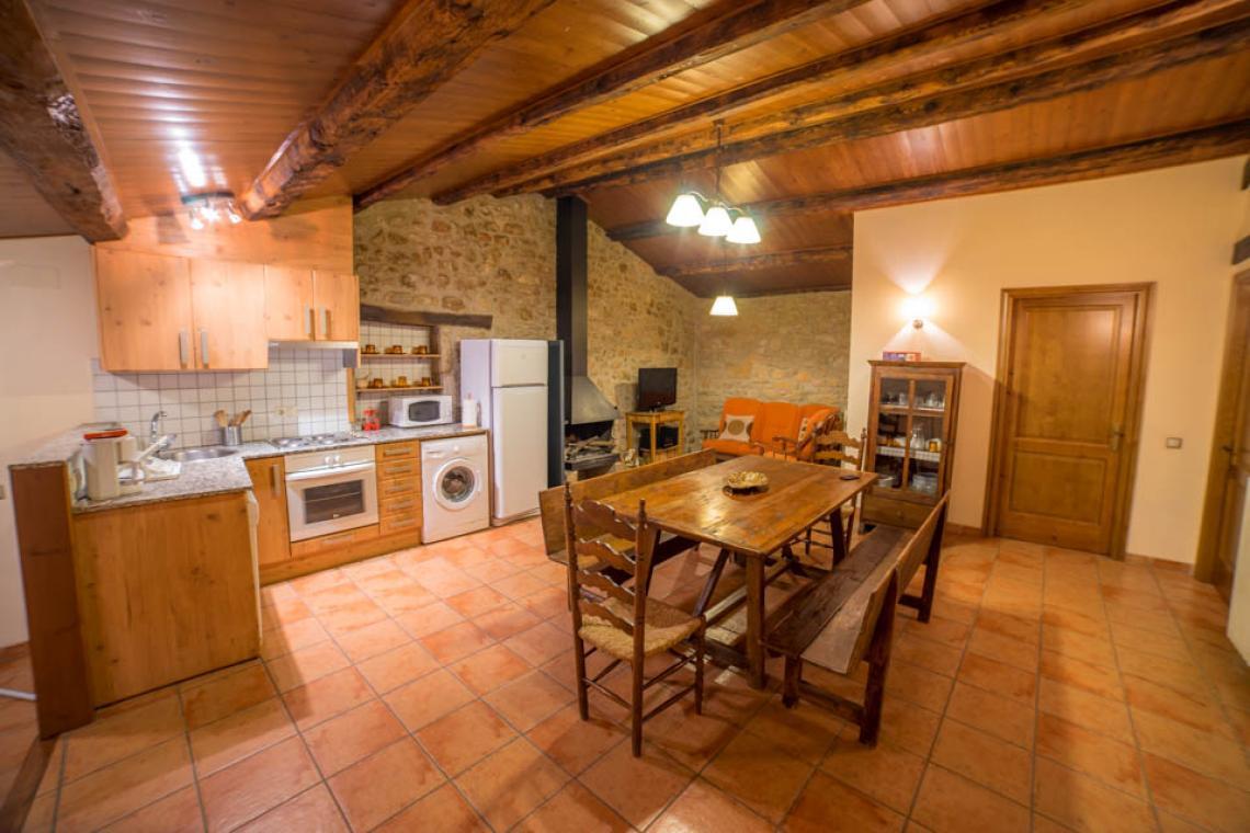 Apartament rural Casafont I - Cuina-menjador