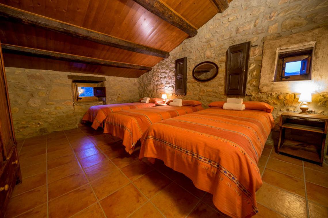 Apartament rural Casafont II - dormitori 3